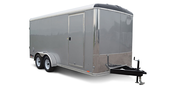 2018 Cargo Express Pro 7 Wide Tandem Cargo Cargo / Enclosed Trailer