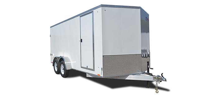 2018 Pace American Aluminum Elite 7 Wide Tandem Cargo Cargo / Enclosed Trailer