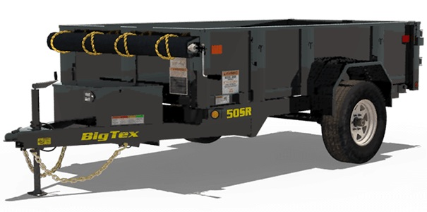 Big Tex Trailers 50SR-10-5W