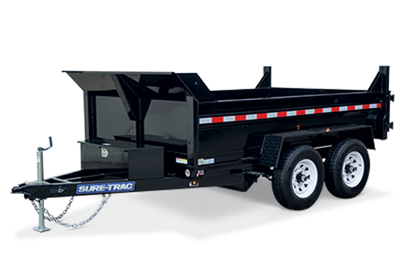 2018 Sure-Trac 72 IN x 10 LProfile 10K Scissor Dump
