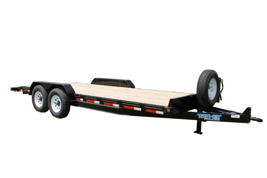 "Top Hat EQUIPMENT HAULER 12.5K - 18x83"" EH 12.5K"