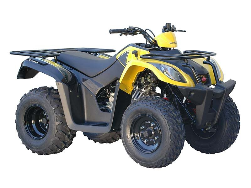 Kymco MXU 150X - Yellow / Black