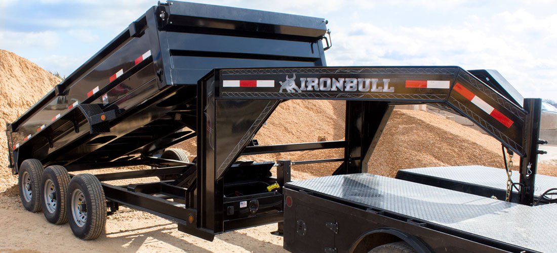 Iron Bull GD21 - 21,000lb GVWR Gooseneck
