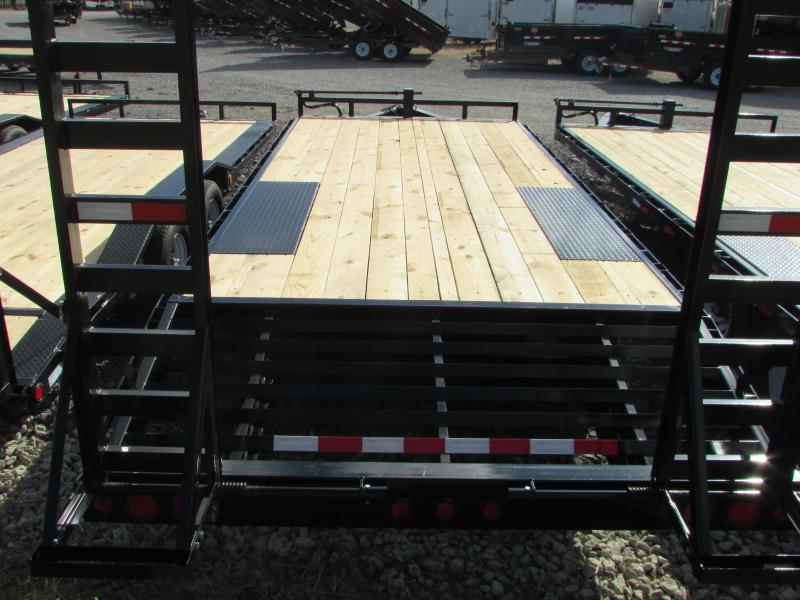 2017 PJ Trailers 20 Flatbed Equipment Trailer