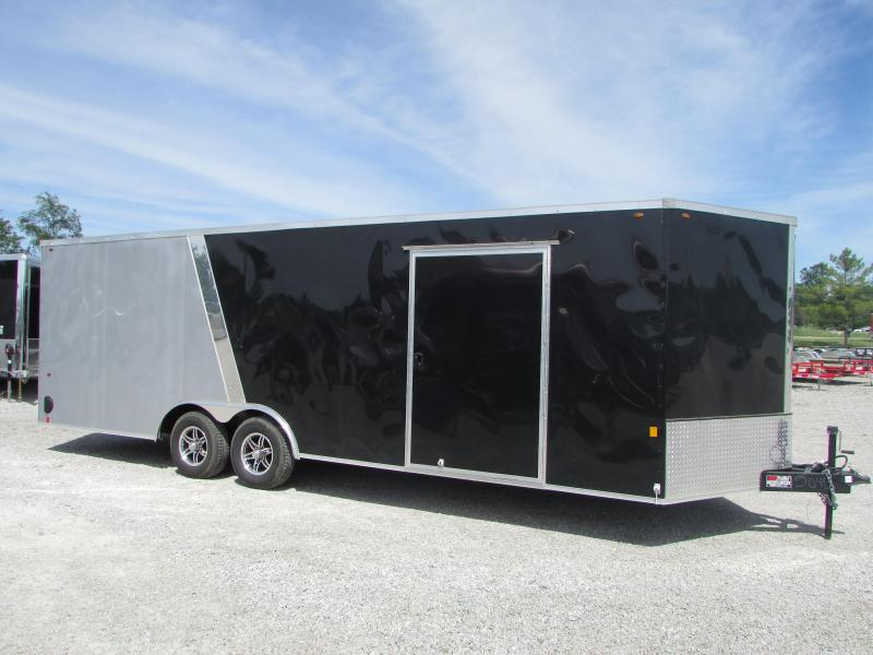 2018 Interstate 24 ft Car Enclosed Cargo Trailer