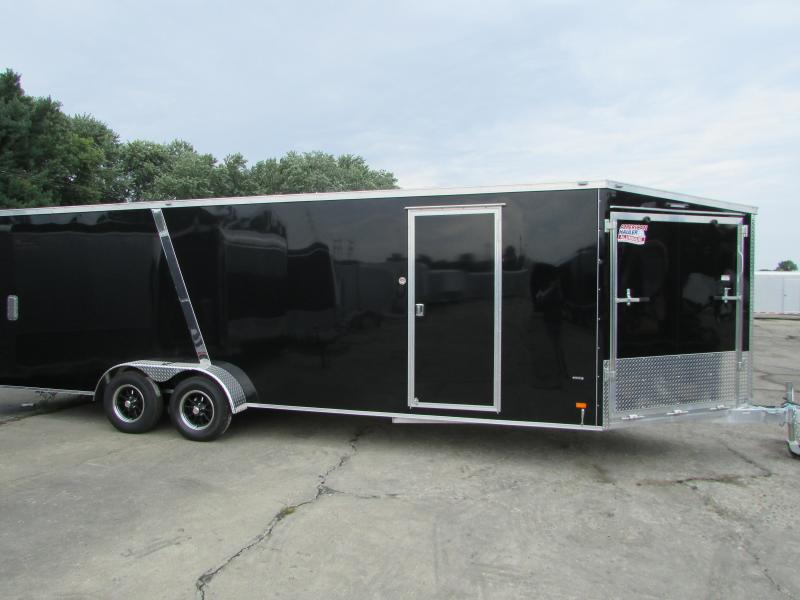 2018 American Hauler Industries 7 X 29 Snowmobile Enclosed Cargo Trailer