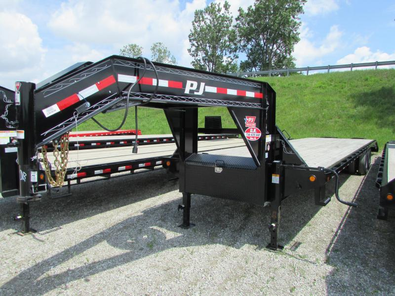 2019 PJ Trailers 35 ft Gooseneck Flatbed Trailer