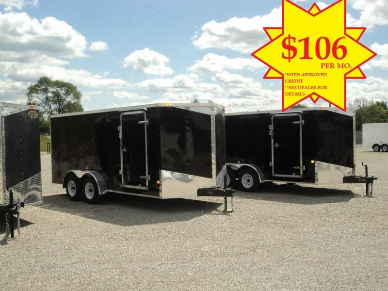 2019 RC Trailers RWT 7X14 TA2 Enclosed Cargo Trailer