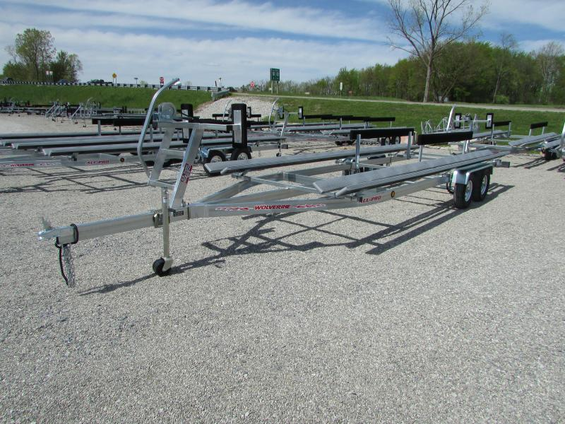 2018 Wolverine Trailers All Pro 24 Bunk Style Pontoon Boat Trailer