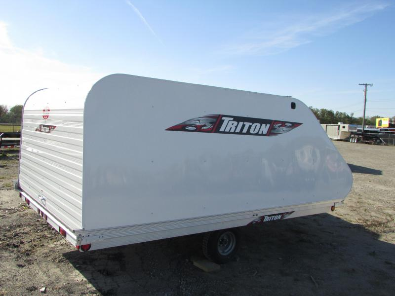 2019 Triton Trailers XT 12 Tlt Style Snowmobile Trailer