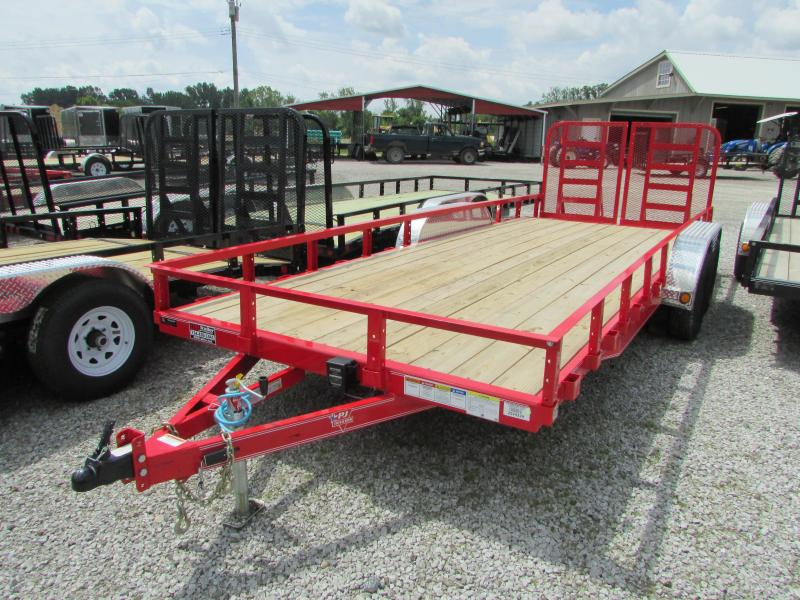 2020 PJ Trailers 20 ft Heavy Duty 10k Landscape Utility Trailer
