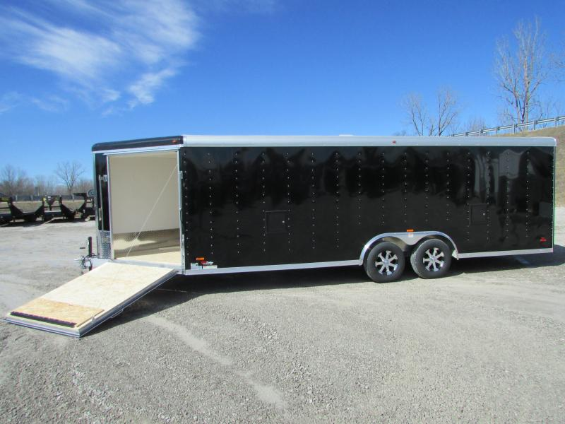 2018 RC Trailers 27ft Auto/Snow Aluminum Enclosed Cargo Trailer
