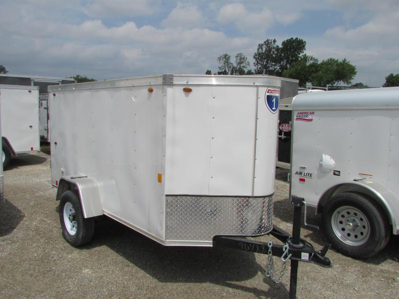 2019 Interstate 4 X 8 Enclosed Cargo Trailer