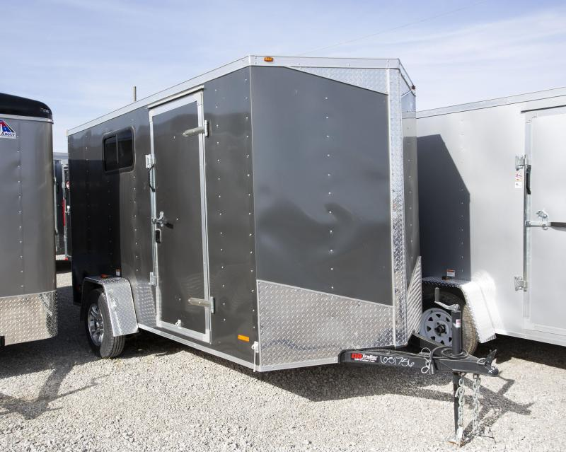 2019 RC Trailers 6 X 12 Ramp Enclosed Cargo Trailer