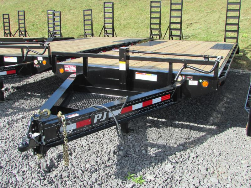 2018 PJ Trailers 22ft Deckover Flatbed Trailer