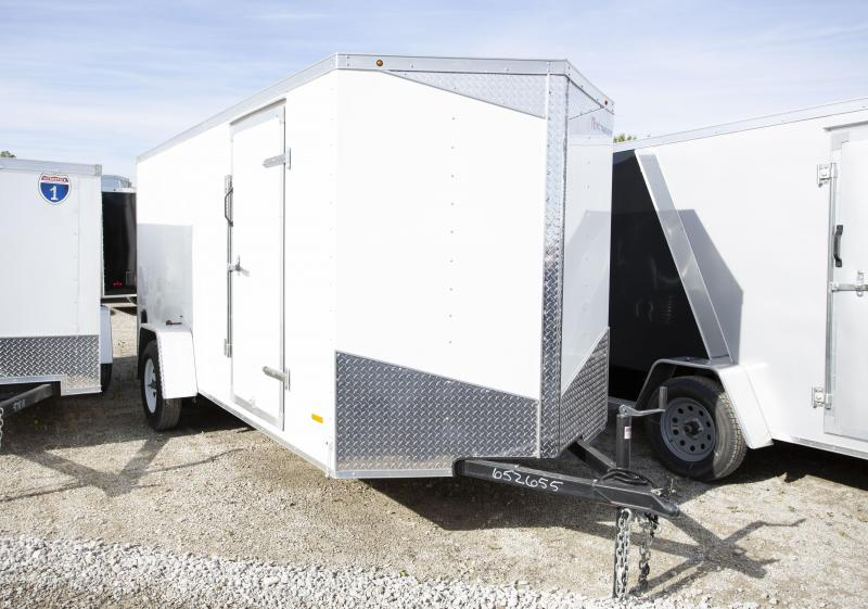 2020 RC Trailers 6 X 14 Ramp Enclosed Cargo Trailer