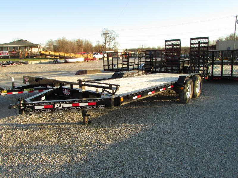 2019 PJ Trailers 20' Heavy Duty 16k Equipment Trailer