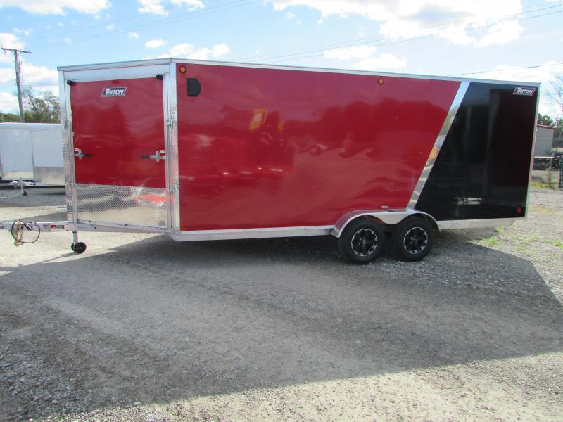 2019 Triton Trailers 7 X 23 Snowmobile Enclosed Cargo Trailer