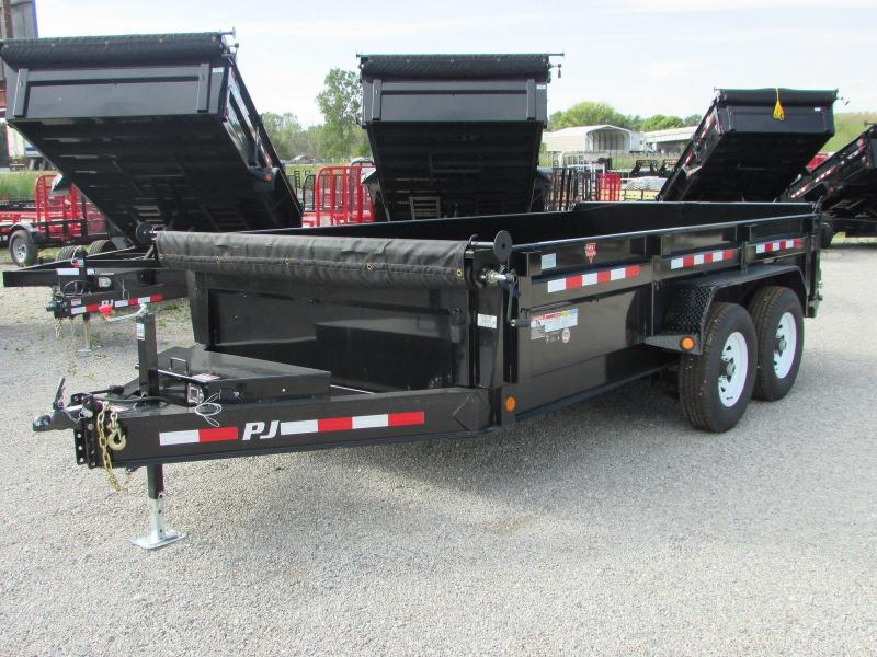 2018 PJ Trailers 14 Dump Trailer Ultra Low Pro 14k Dump Trailer