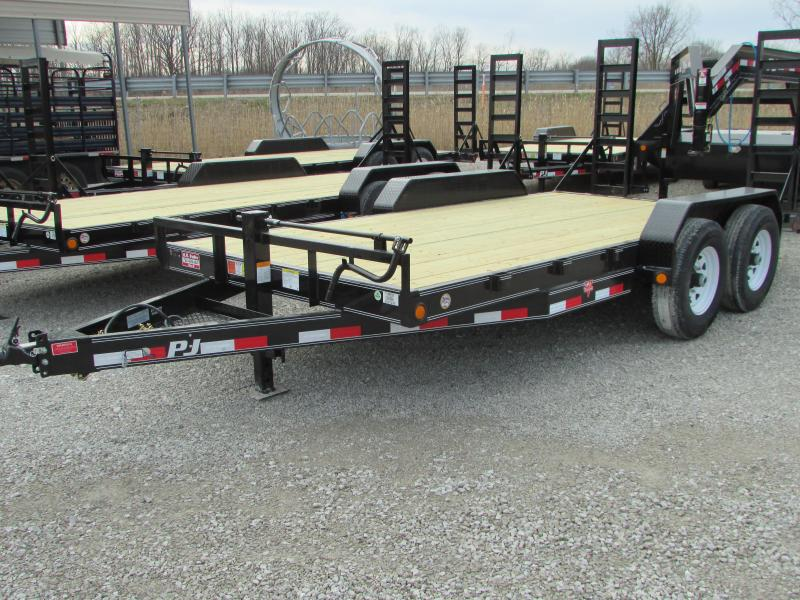 2018 PJ Trailers 16 Equipment Trailer