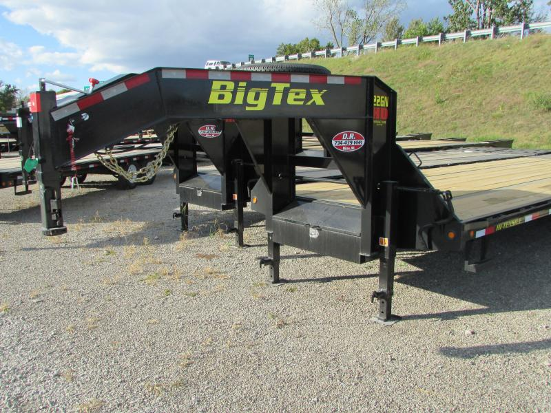 2018 Big Tex Trailers 40' Gooseneck Flatbed Trailer