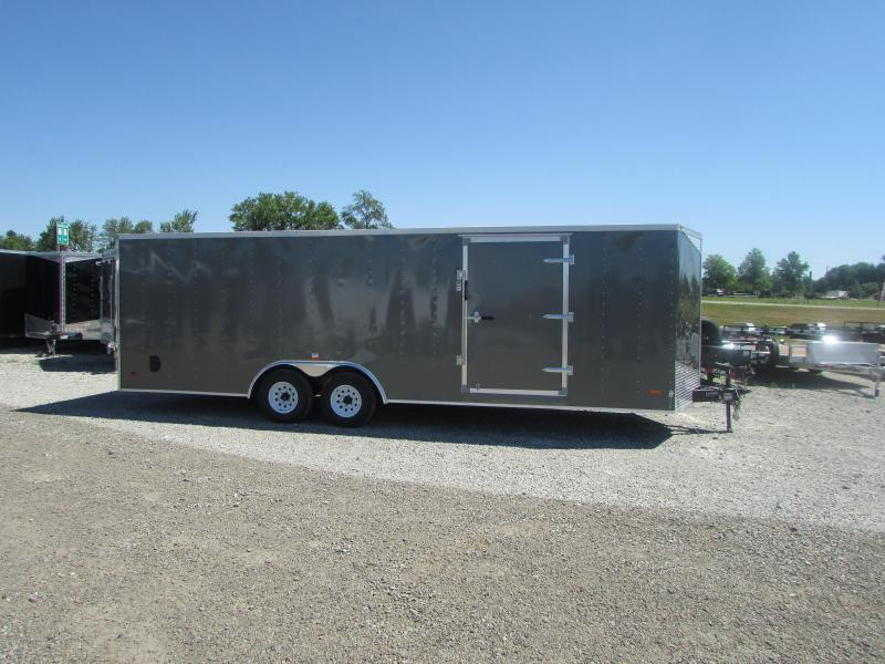 2018 RC Trailers 24 ft Car Enclosed Cargo Trailer