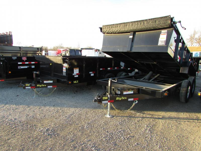 2017 Big Tex Trailers 14' Dump Trailer