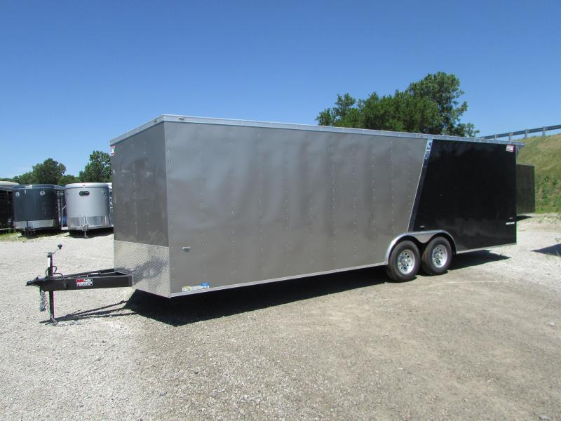2018 American Hauler Industries 24 FT Enclosed Car Cargo Trailer