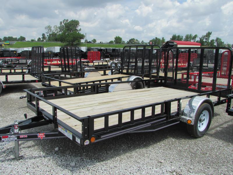 2020 PJ Trailers 12 ft ATV Landscape Utility Trailer