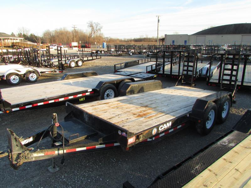 2014 Cam Superline 16 FT Equipment Trailer