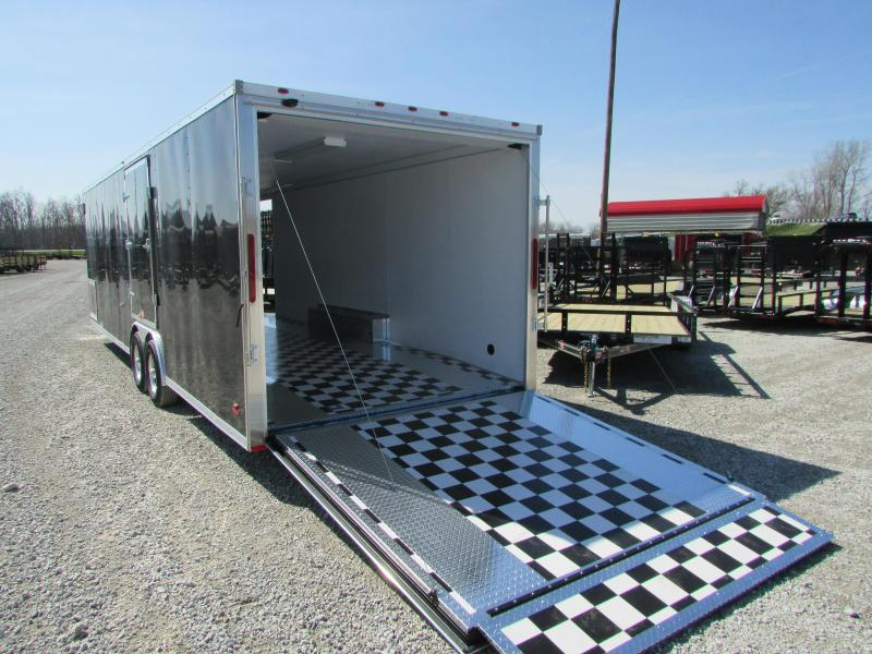 2018 RC Trailers 28ft Carhauler Cargo / Enclosed Trailer