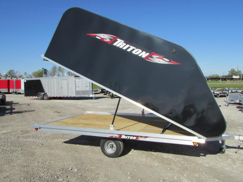2018 Triton Trailers XT 12 Tlt Style Snowmobile Trailer