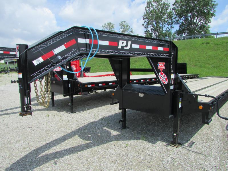 2020 PJ Trailers 40 ft Low Profile Gooseneck Equipment Trailer