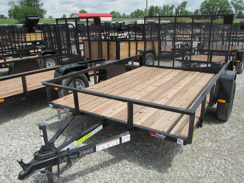 "2019 Forest River 6'6"" x 10 Force Utility Trailer"