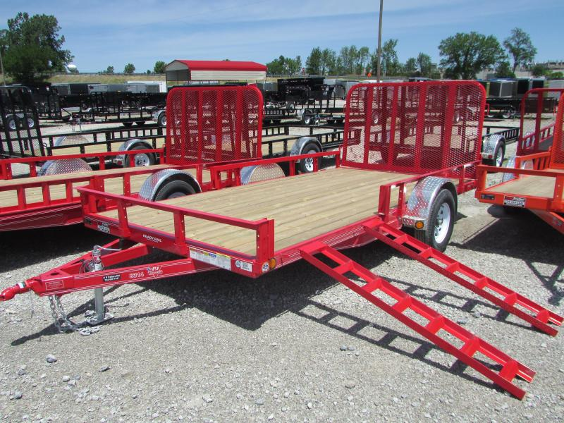 2019 PJ Trailers 12 FT Landscape ATV Utility Trailer