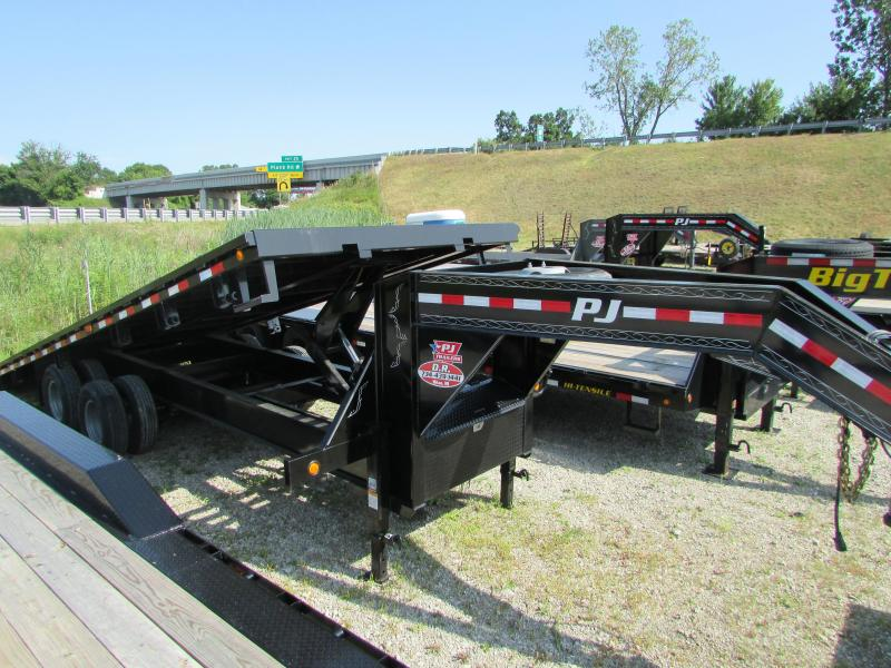 2019 PJ Trailers 24 ft Tilt Heavy Duty Gooseneck Equipment Trailer