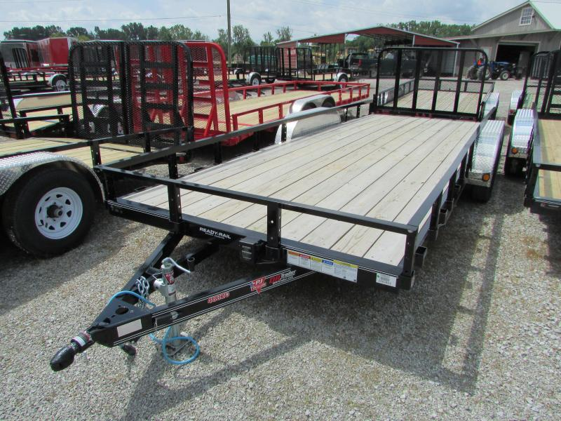 2019 PJ Trailers 20 ft Landscape Utility Trailer