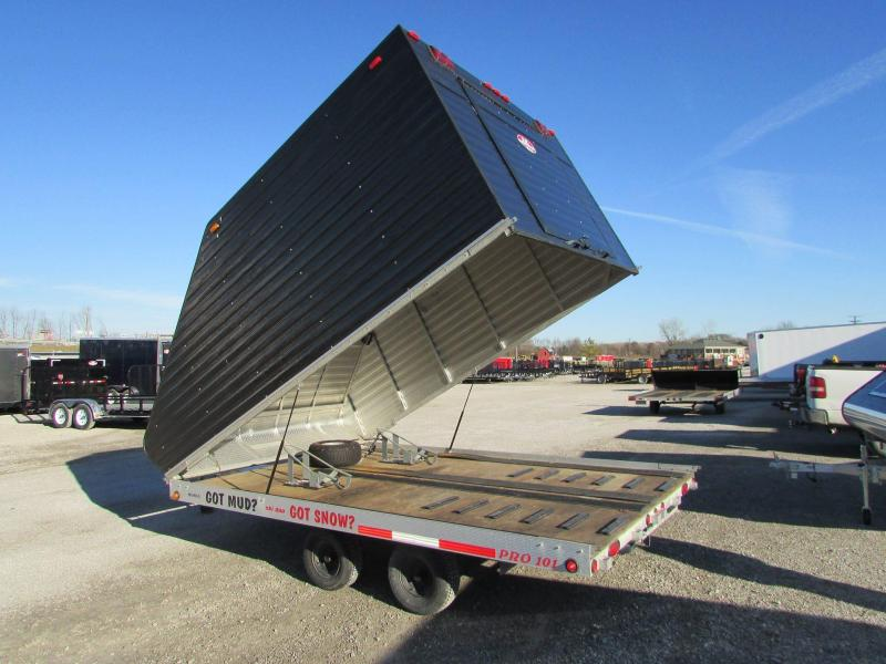 Used Montrose 12' Snowmobile Trailer