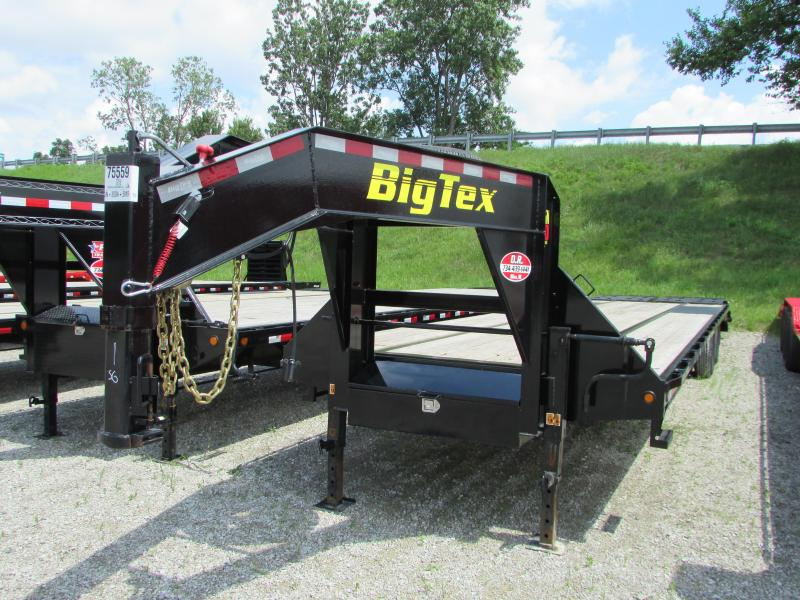 2019 Big Tex Trailers 35 ft Gooseneck Flatbed Trailer