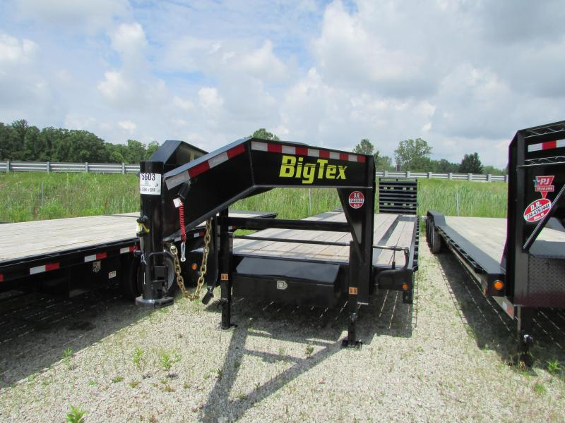 2019 Big Tex Trailers 30 ft Big Tex Gooseneck Flatbed Trailer