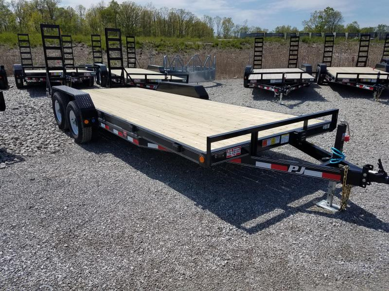 2018 PJ Trailers 20 ft Equipment Trailer
