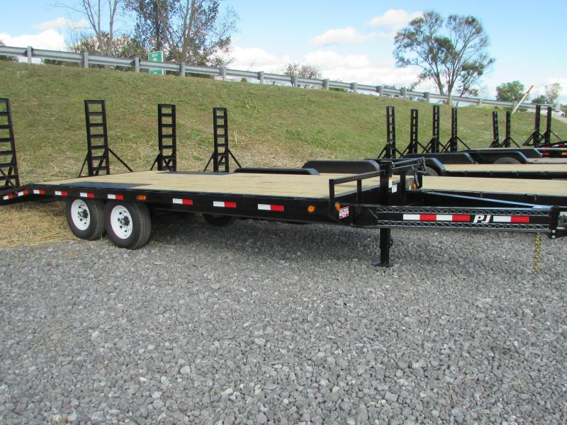 2018 PJ Trailers 20 Deckover Equipment Trailer