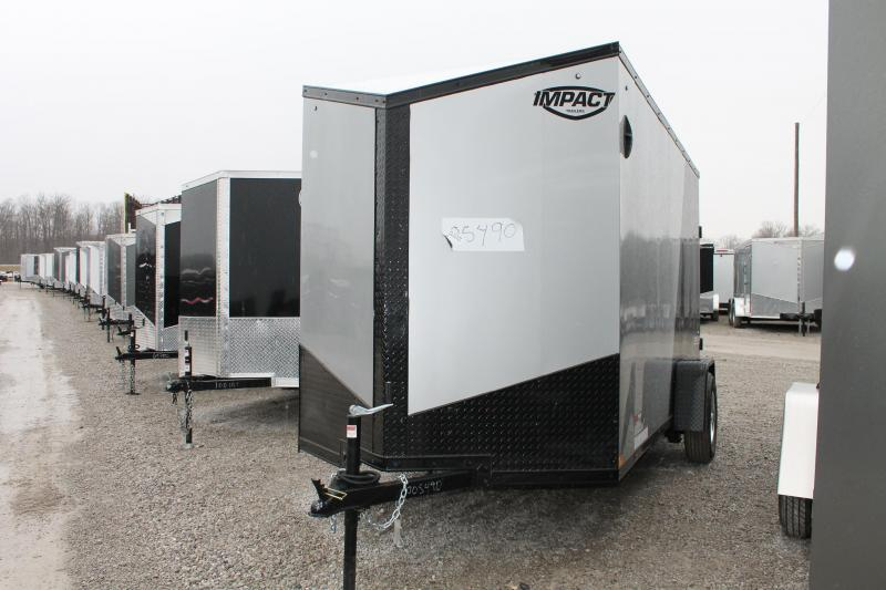 2021 Impact Trailers 6'x12' RD Enclosed Cargo Trailer