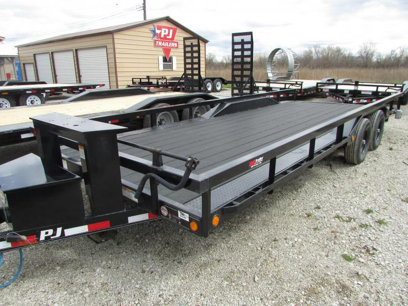 2018 PJ Trailers 22 Buggy Hauler Demo Equipment Trailer