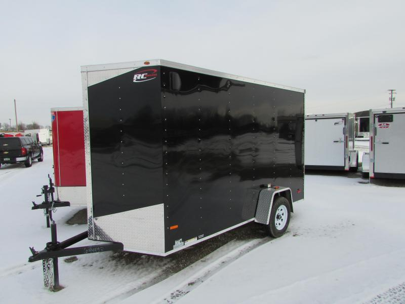 2018 RC Trailers RWT 6X12x7' High Enclosed Cargo Trailer