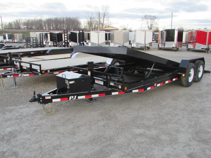 2019 PJ Trailers PJ 20 Power Tilt 14k Equipment Trailer
