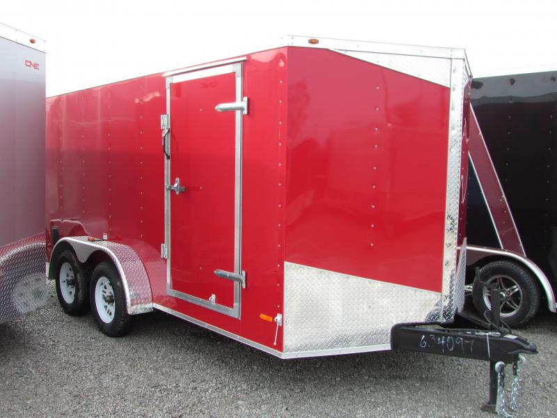 2018 RC Trailers 7 X 14 Ramp Enclosed Cargo Trailer