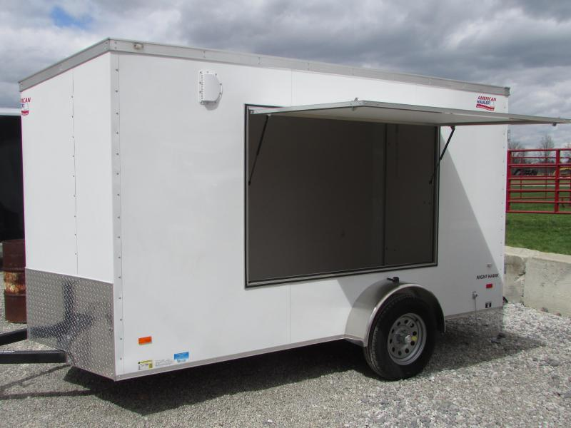 2018 American Hauler Industries 6 X12 W/Awning Enclosed Cargo Trailer