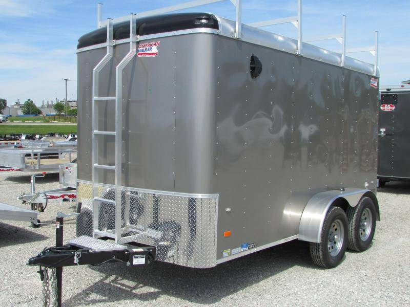 2018 American Hauler 6 x 12 Contractors Cargo / Enclosed Trailer