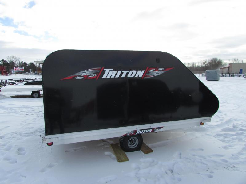 2018 Triton Trailers XT 10 TILT STYLE Snowmobile Trailer